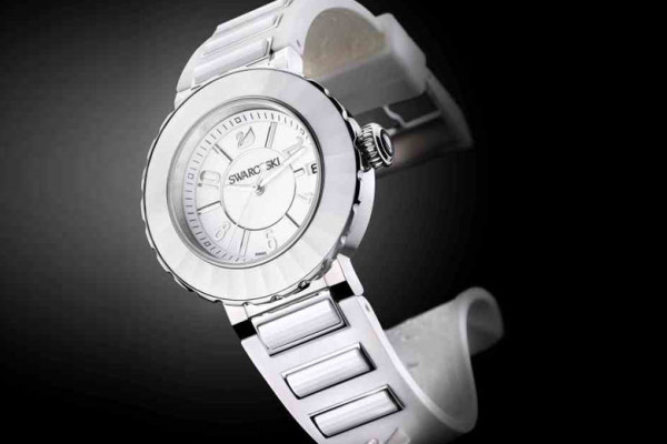 Swarovski Collection – Octea Sport  White Ceramic